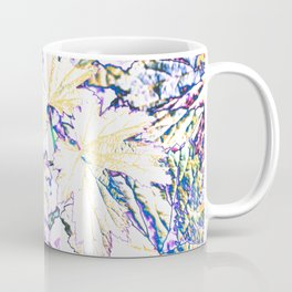 GERANIUM LEAVES BLUE Coffee Mug