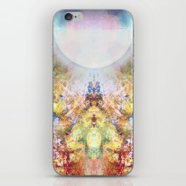 Distortion divded by Zero iPhone Skin