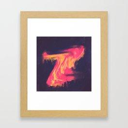 DAY 57: CONDIMENT CATACLYSM Framed Art Print