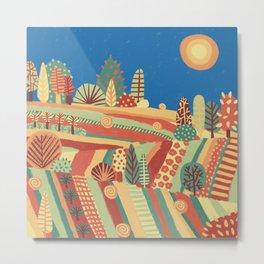 Fairy Tale Landscape Metal Print