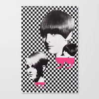 60s Canvas Prints featuring 60s by Luca Mainini