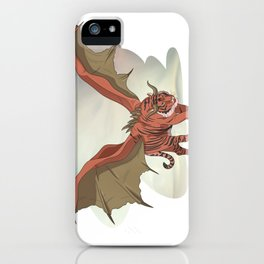 Manticore illustration iPhone Case
