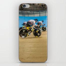 Velodrome Cycling iPhone Skin
