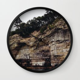 Pictured Rocks II Wall Clock