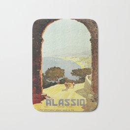 1920s Alassio Italy Bath Mat