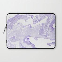 Purple Marble Laptop Sleeve