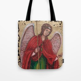 Archangel Gabriel Tote Bag