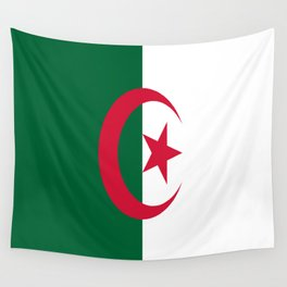Flag Of Algeria Wall Tapestry