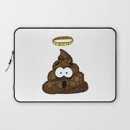 Holy Crap! - Bathroom Humor - Poop - 57 Montgomery Ave Laptop Sleeve