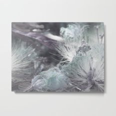 Yielding to Winter's breath Metal Print