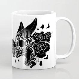 Skull 'n' Roses (NightmareNetty-Black&White) Coffee Mug