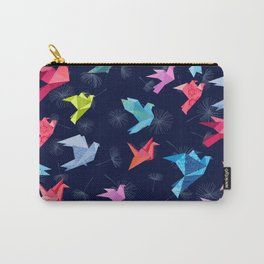 Origami Birds in Flight Carry-All Pouch