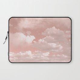 Clouds in a Peach Sky Laptop Sleeve