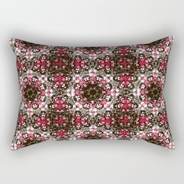 Oriental Ornate Pattern Rectangular Pillow