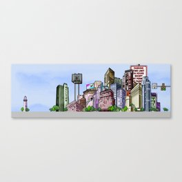 BUILDING SERIES 2 Canvas Print