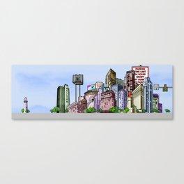 BUILDING SERIES 2 Canvas Print