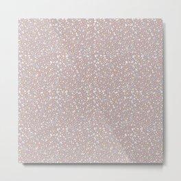 Pink stardust Metal Print