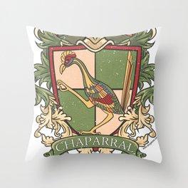 Small Logo - Chaparral Elementary School Throw Pillow