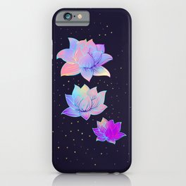 Lotus flowers iPhone Case