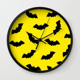 Moonlight Bats Wall Clock