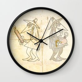 Spy vs. Spy Wall Clock