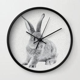 Rabbit 25 Wall Clock