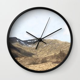 To the hills Wall Clock