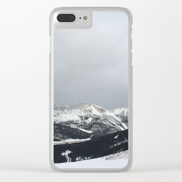 Keystone Mountains - Colorado Clear iPhone Case