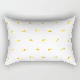 Banana Peel Pattern Rectangular Pillow
