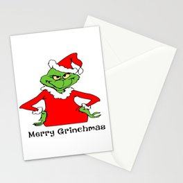 Grinchmas Stationery Cards