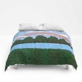 Rainbow of Hope Comforters