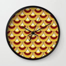 Koi Nobori Himawari Wall Clock