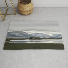 Mountains and Glaciers Iceland Rug
