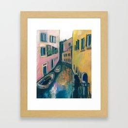I dream of Venice Framed Art Print