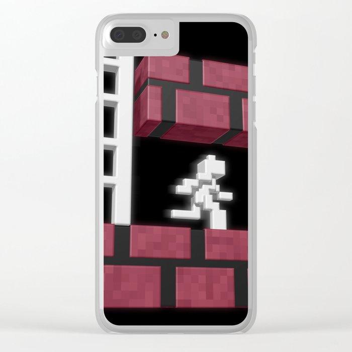 Inside Lode Runner Clear iPhone Case
