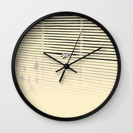 Who's there Wall Clock