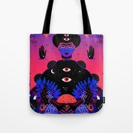 Noche Tropical  de Frida Tote Bag
