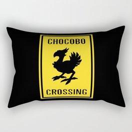 FINAL FANTASY: WARNING, CHOCOBO CROSSING Rectangular Pillow
