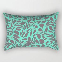 Wild Side - Mint Rectangular Pillow
