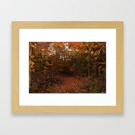 Autumn decor Framed Art Print