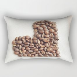 Coffee Heart - Kitchen Decor Rectangular Pillow