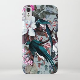 Floral and Birds XXIV iPhone Case