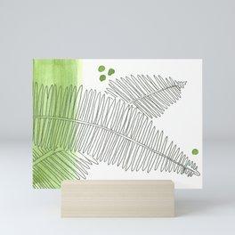 Fern Wash Mini Art Print