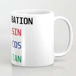 Mathturbation Is A Sin Coffee Mug