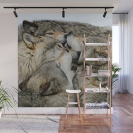 Muzzle Nuzzle Wall Mural