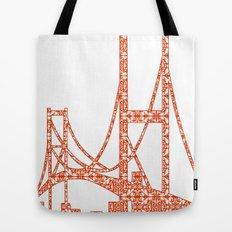 Architecture - Golden Gate Bridge Tote Bag