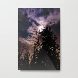 Sky & trees Metal Print