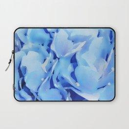 Light Blue Flowers Laptop Sleeve