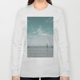 Paddle Triangle Long Sleeve T-shirt