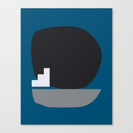 Shape study #4 - Stackable Collection Canvas Print